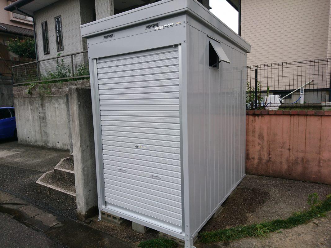 バイクガレージ、イナバ、福岡